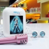 Earphone Mic With Case Natsune Miku
