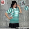 Kaos Strip Green AOT XL