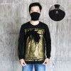 Long sleeve Monkey D Luffy Gold L