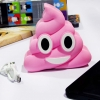 Power Bank Emoji Poop Pink