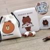 Set Power Bank Line Brown