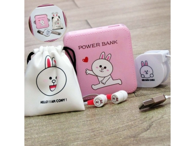 Set Power Bank Line Conny