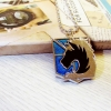 Kalung Attack on Titan Military Police Biru
