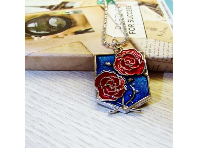 Kalung Attack on Titan Stationery Guards Biru