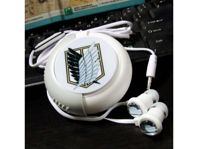 Earphone With Case AOT