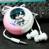 Earphone With Case Mikasa AOT