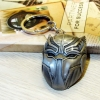 Gantungan Kunci Black Panther Head