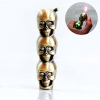 BRS Gold Skull Lighter