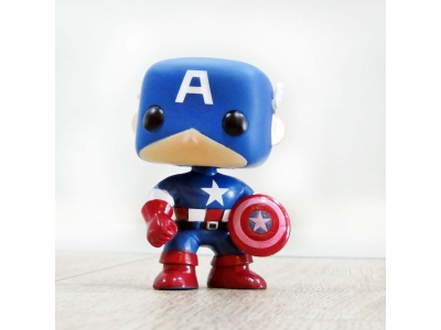 Pop Figure Captain America