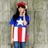 Kaos Captain America XL