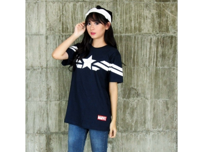 Kaos Strip Captain America M