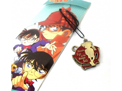 Kalung Conan Private Eye Merah