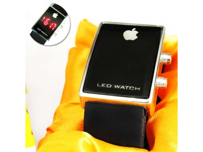 Jam Tangan LED Apple Death Note