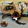Rotable Shuriken Sharingan Madara Gold