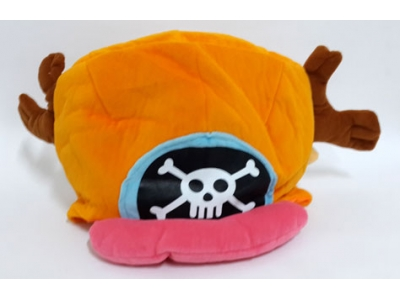 Topi Chopper New World Orange