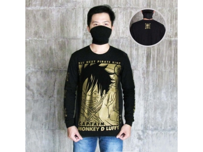 Longsleeve Monkey D Luffy Gold