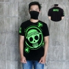 Kaos One Piece Green Logo S