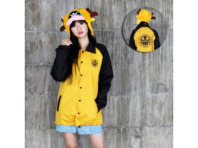 Jaket Windbreaker Trafalgar Law XL