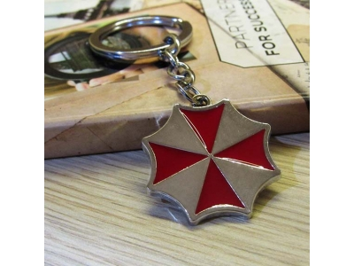 Gantungan Kunci Logo Umbrella Corporation
