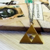 Kalung Simbol Triangle Legend Of Zelda