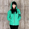 Jaket Kaneki Green Coat M