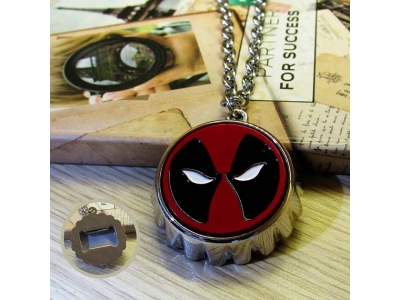Kalung Bottle Opener Deadpool