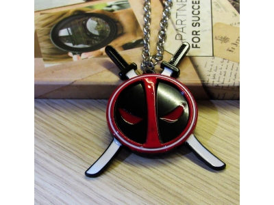 Kalung Deadpool Logo Sword