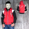 Jaket Double Zipper Akame Ga Kill M