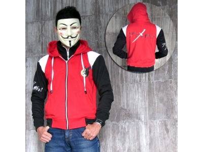 Jaket Double Zipper Akame Ga Kill