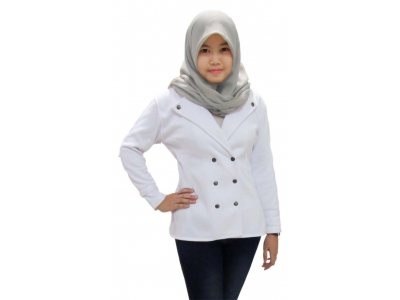 Jaket Asuna White Coat XL